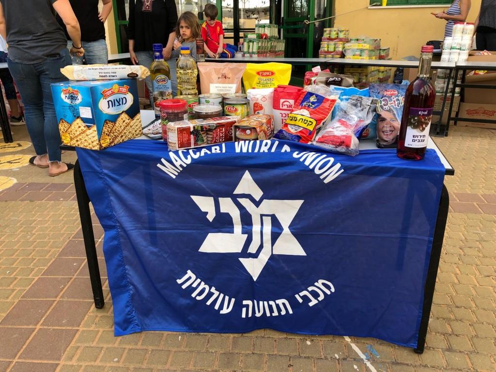Maccabi World Union (MWU) - Community Uplift - food parcels-