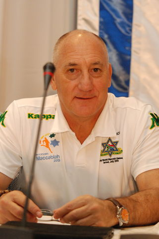 World Leadership - cliff garun- Chairman Maccabi South Africa