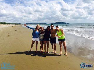 Educating the World - Maccabi Young Leadership - europe young leadership on the beach-