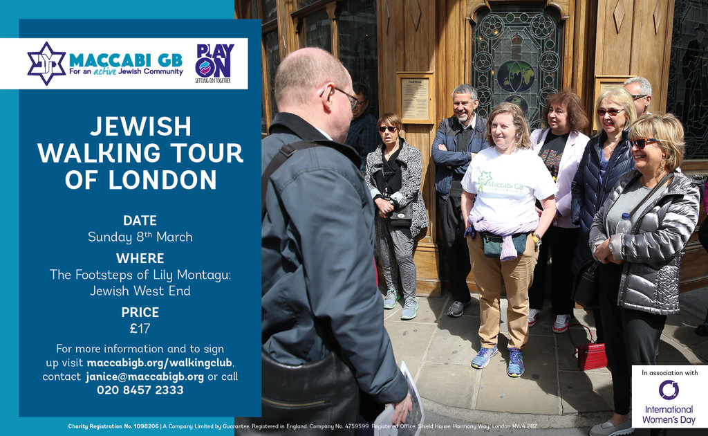 jewish walkimg tour maccabi gb - Jewish Walking Tour of London - Maccabi GB