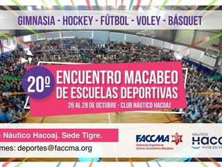 20th maccabi gathering of sports schools