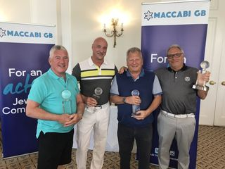 winners of mgb community golf day 2019