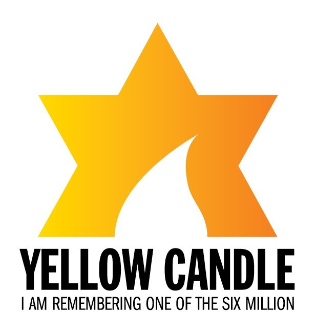 yellow candle logo - Maccabi GB Yellow Candle Project