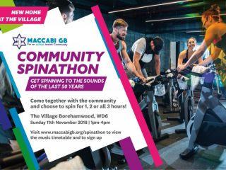 community spinathon - Maccabi GB Community Spinathon