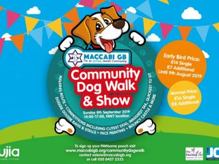 maccabi gb community dog walk 2019