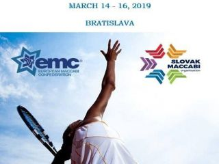 tennis tournament slovakia - 18th European Maccabi Tennis & Bowling Tournament
