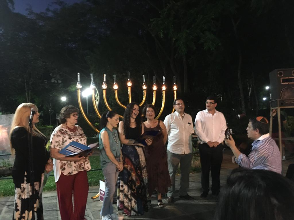 Gallery - Chanukah In the Maccabi World 2018 - paraguay-