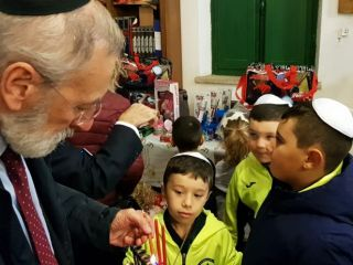 Gallery - Chanukah In the Maccabi World 2018 - italy-