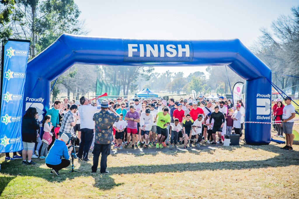 south africa fun run 2 - Johannesburg Maccabi Fun Run