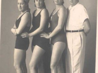 Archive & Museum - Archive - group of swimers-