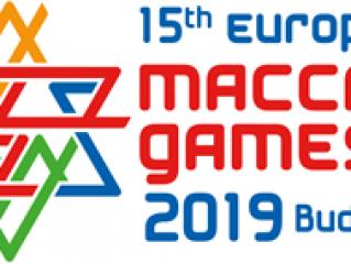 Sport Department - European Maccabi Games - logo european maccabi games budapest-