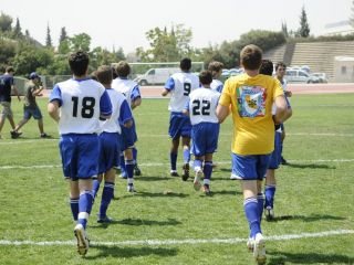 Sport Department - JCC Maccabi Games - football practice-