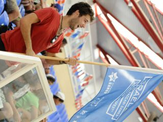 Sport Department - Maccabi Youth Games - flag holding-