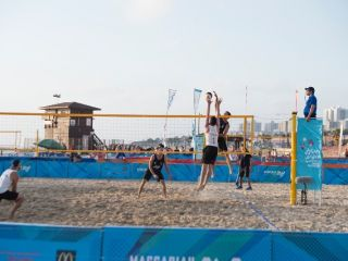Gallery - 20th Maccabiah - Sport - beach volleyball-