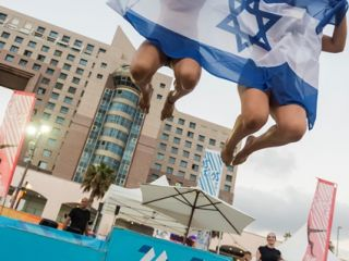 Gallery - 20th Maccabiah - Sport - beach volleyball winners-