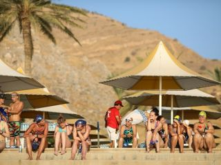 Gallery - 20th Maccabiah - Sport - open water at the kinneret-