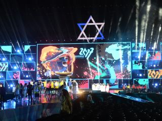 Gallery - 20th Maccabiah Opening Ceremony - opening ceremony maccabih2-