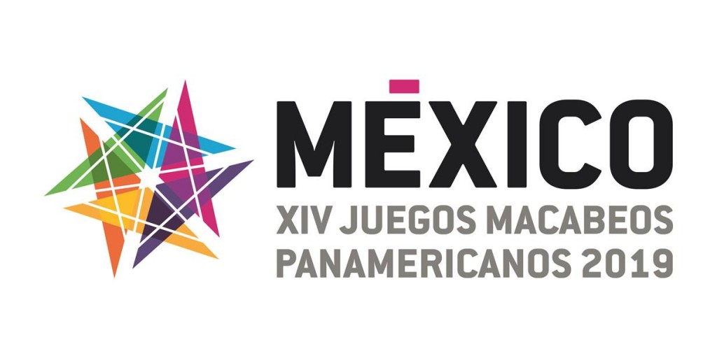mexico 2019 games logo - 2019 Maccabi Pan American Games