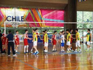 Sport Department - Pan American Maccabi Games - chile games volleyball-
